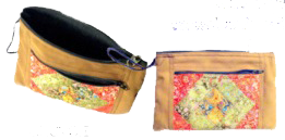 Crewel Embroidered Clutch Bags - OR3B3